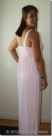 back maxi dress