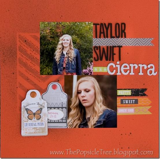 Taylor Swift aka Ciera