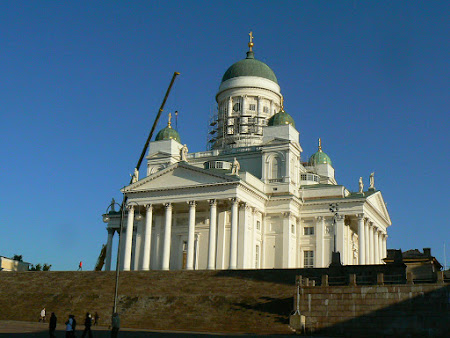 Obiective turistice Finlanda: Catedrala Luterana Helsinki