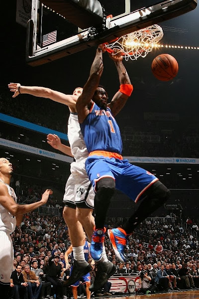 wearing brons nba soldier7 amare knicks 12 Wearing Brons: Amare Stoudemire in SOLDIER 7 Knicks PE (x3)