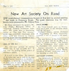 New Art Society on the Rand