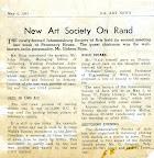New Art Society on the Rand