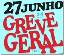 Greve Geral 27 de JUNHO. Jun.2013