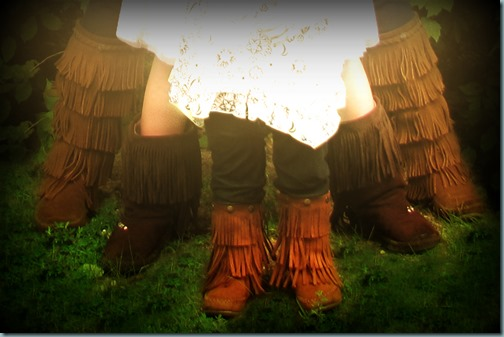 fringe boots focus