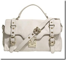 Reiss white bag
