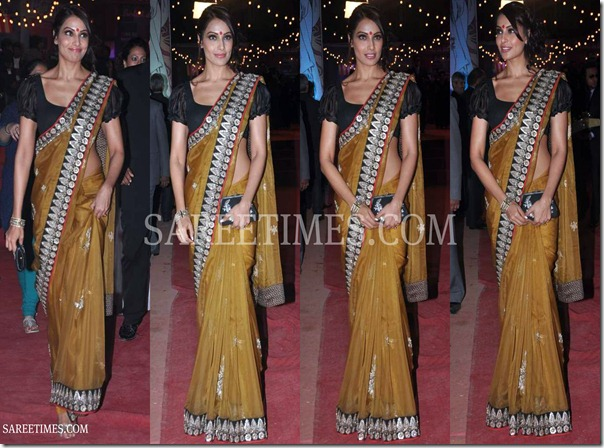 Bipasha_Basu_Drape_Saree