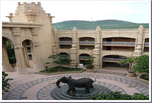 The-Palce-of-the-Lost-City-Sun-City-África-do-Sul-Elefante