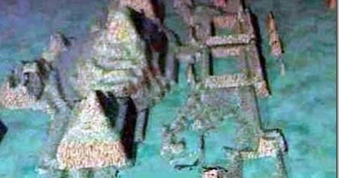 Resultado de imagem para Descobertas ruínas de cidade submersa na misteriosa região do Triângulo das Bermudas (25 de outubro de 2012)