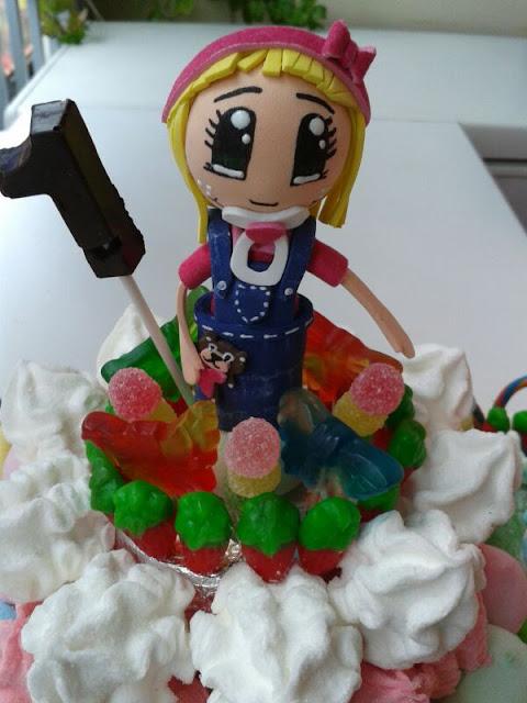 fofucha bebita tarta de chuches