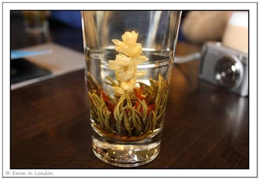 Flowering tea