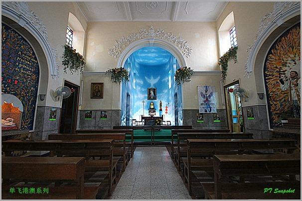 圣方济各教堂内堂