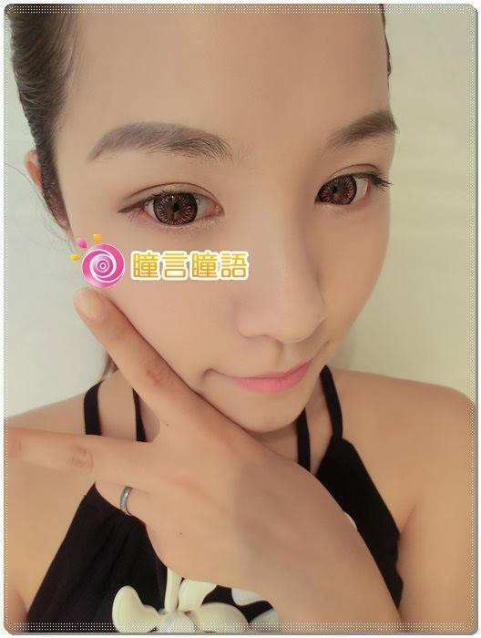 日本ROYAL VISION隱形眼鏡-Summer Doll灰5