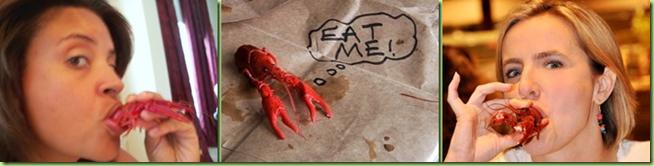 crawfish eat me