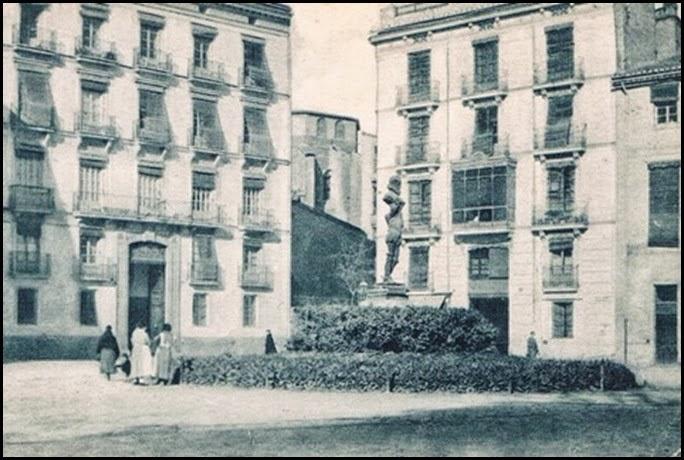 Monumento a Cervantes. Ca. 1915