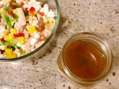 pepper jelly vinaigrette 1
