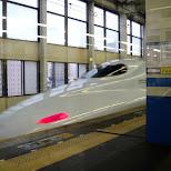 shinkansen in Fukuoka, , Japan