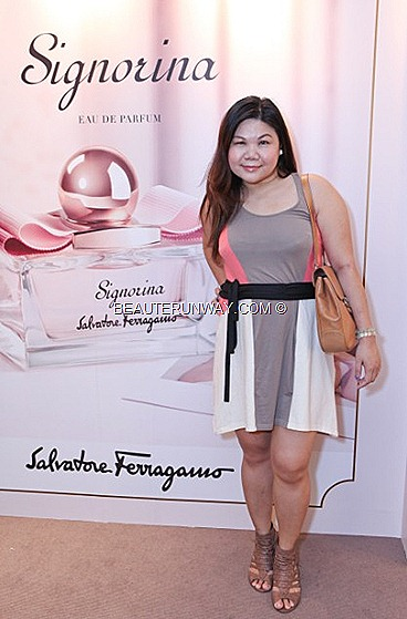 SIGNORINA SALVATORE FERRAGAMO FRAGRANCE PERFUME EAU DE PARFUMS EDP BODY LOTION  BATH SHOWER GEL SPRING SUMMER PARAGON SINGAPORE