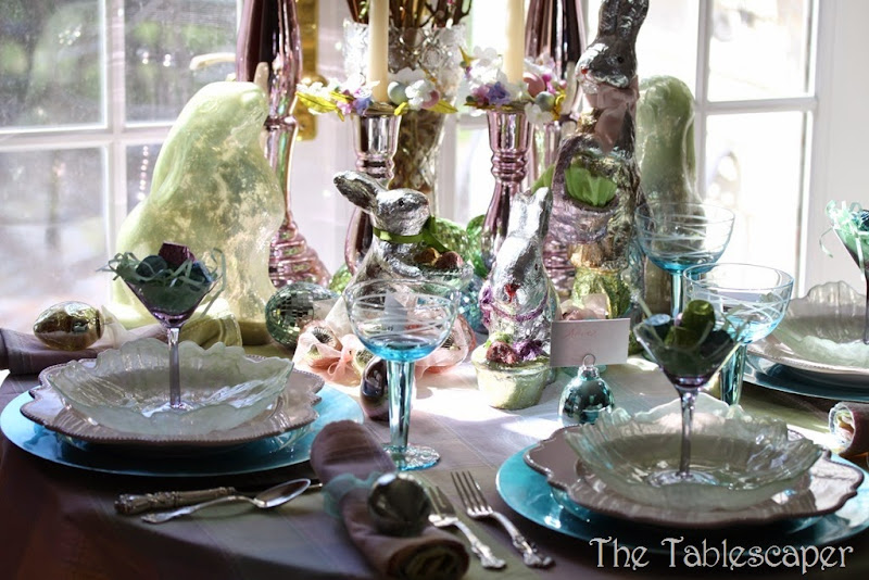 Tablescape Sparkling Easter - The Tablescaper11