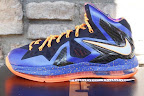 nike lebron 10 ps elite blue black 6 01 Release Reminder: Nike LeBron X P.S. Elite Superhero