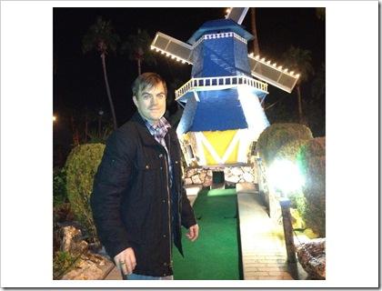 Nick by windmill