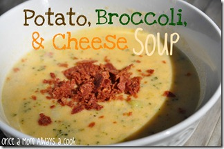 Potato, Broccoli, and Cheese Soup OAMAAC