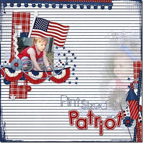 Pint-sized Patriot