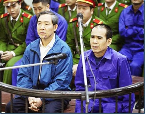 Xét xử sơ thẩm vụ án Dương Chí Dũng cùng đồng phạm (Sáng 13/12/2013)