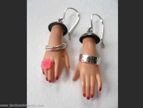 brincos barbie pedaços partes bonecas desbaratinando (4)