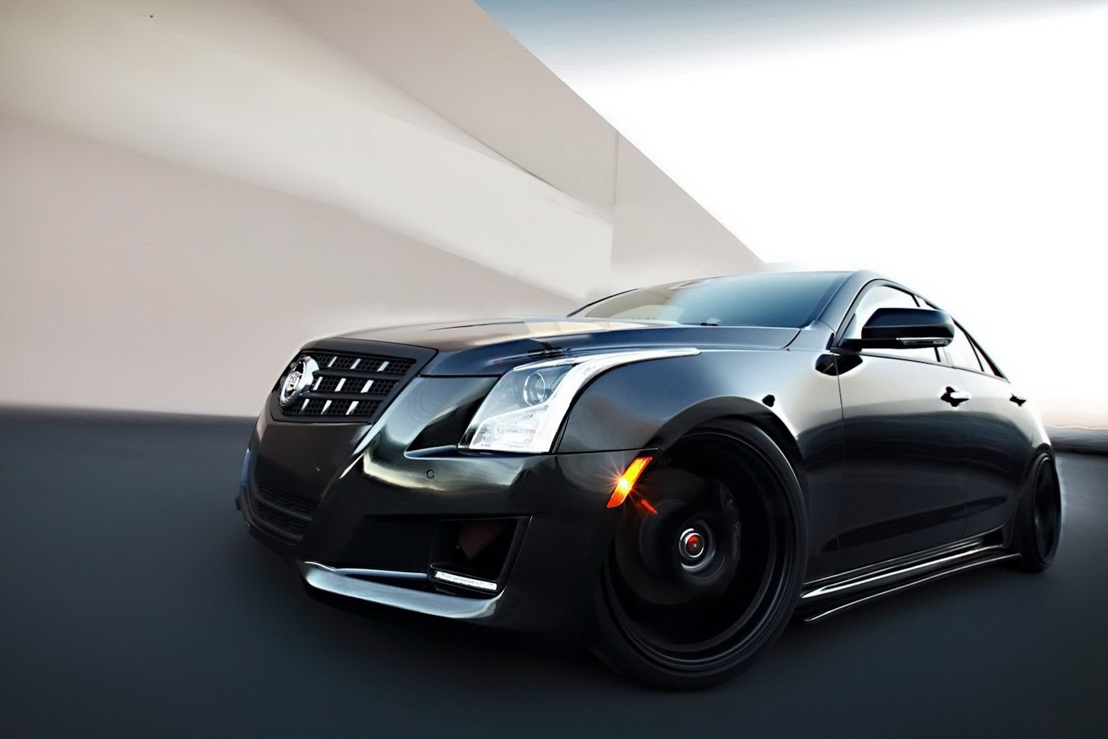 Cadi ATS black out grill