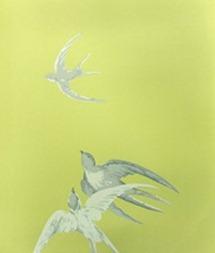Fågeltapet, Sanderson, Vintage