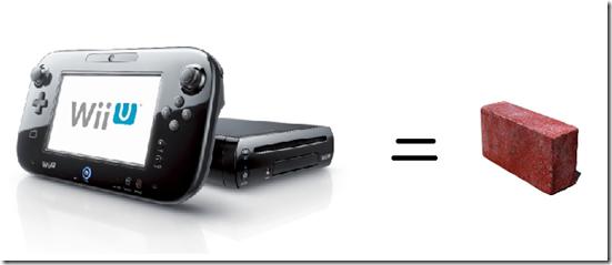Nintendo Wii U Brick