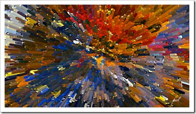 streaks abstract art