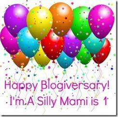 I'm A Silly Mami blogiversary