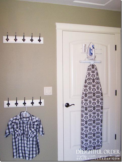 Delightful order my laundry room reveal - Cuarto de plancha ...