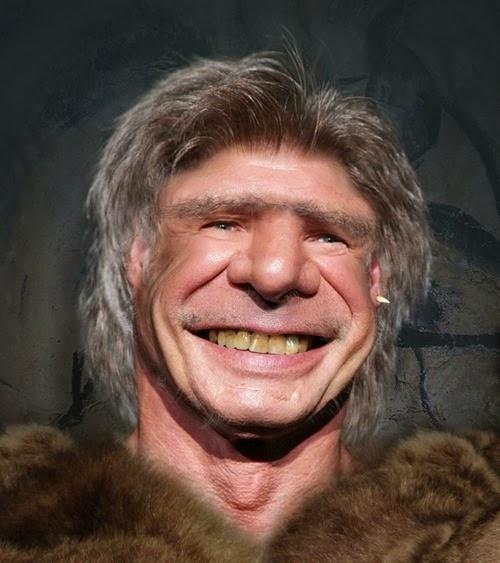 Neanderthal Harrison Ford