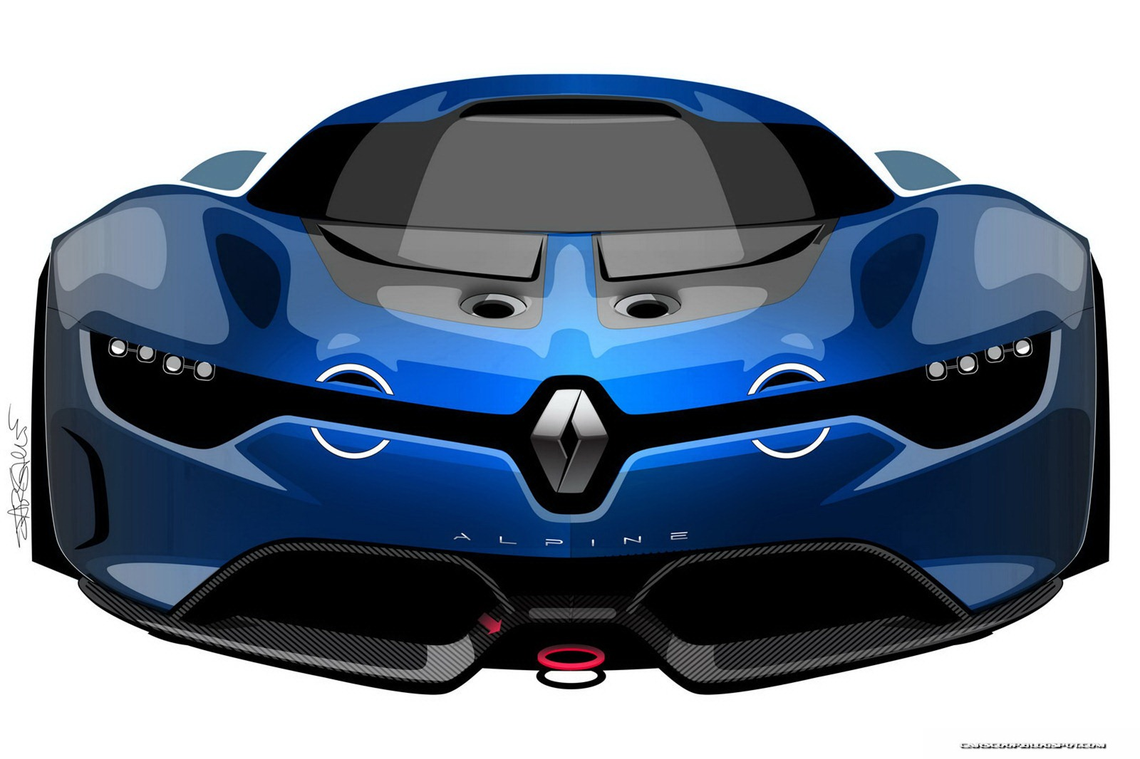 renault alpine konzept vektorgrafik - photo #15