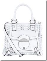 Karen millen white satchel