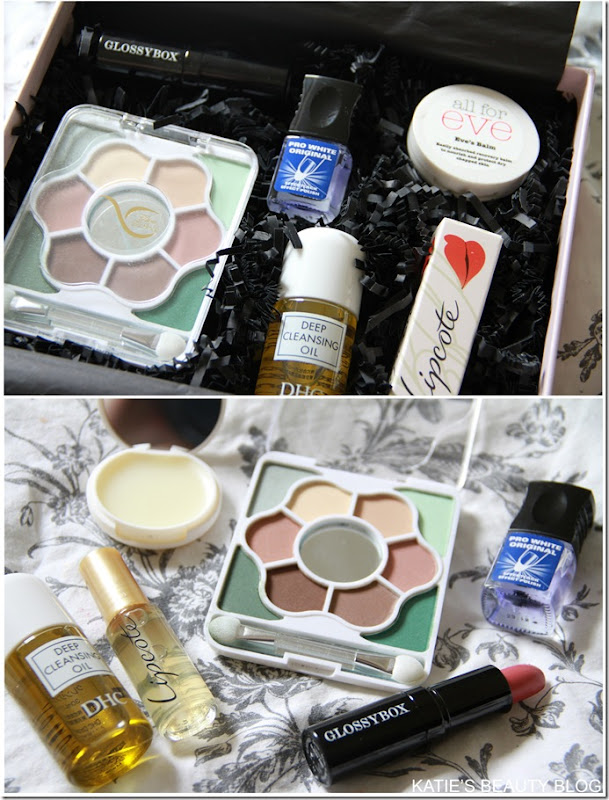 GLOSSYBOX AUGUST 2