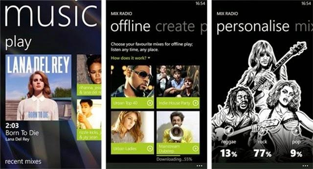 Descargar Música MP3 para Windows Phone