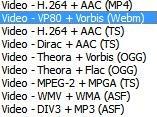VLC-Formatos