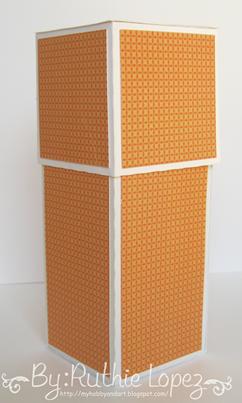 cake box surprise box - Lid SDS - Ruthie Lopez DT 11