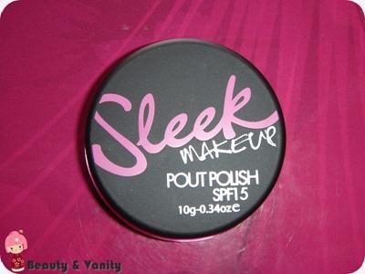 Sleek Pout Polish SPF15 in Scandal