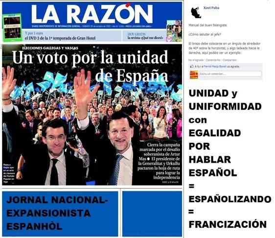 La Razón nacional-expansionista espanhòl