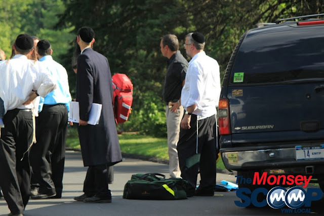 4 Year Child Struck By Vehicle On Roberts Rd (Moshe Lichtenstein) - IMG_5358.JPG