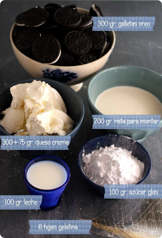 oreo-cheesecake-ingredientes