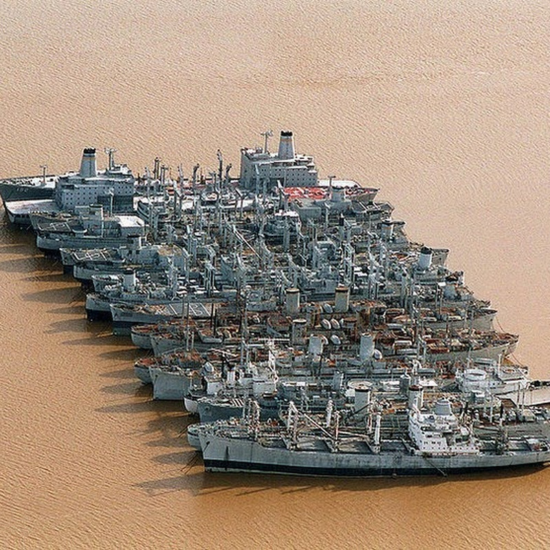 The Ghost Ships of the National Defense Reserve Fleet