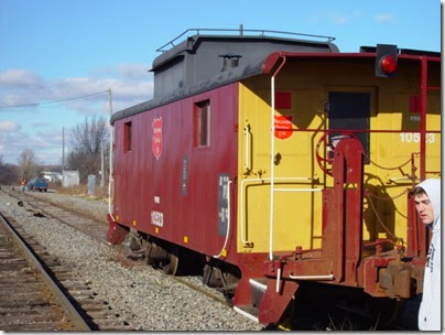 030 Rugby - Caboose Again