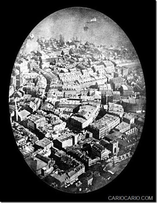 PRIMEIRA FOTOGRAFIA AÉREA (1858)