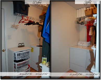 laundry room before after left wall