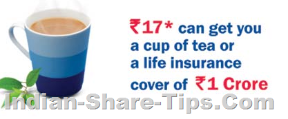 1 Crore insurance at a cost of a cup of tea every day